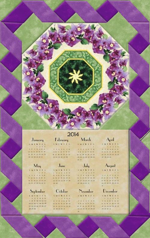 Wall Hanging Kit green : garden magic calendar wall hanging kit