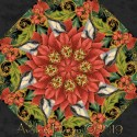 Christmas Joy Kaleidoscope Quilt Block Kit