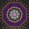 Grand illusion Border Kaleidoscope Quilt Blo