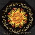 Autumn Splendor Garland Kaleidoscope Quilt Block Kit