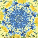 Summer Breeze Kaleidoscope Quilt Block Kit