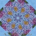 Blossom and Bloom Kaleidoscope Quilt Block Kit