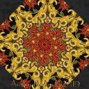 Holiday Flourish 12 Lattice Kaleidoscope Quilt Block Kit