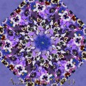 Pretty as a Pansy Kaleidoscope Quilt Block Kit