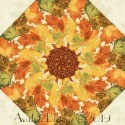 Giving Thanks Harvest Kaleidoscope Quilt Block Kit