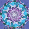 Flora Fantasia Kaleidoscope Quilt Block Kit
