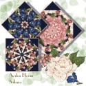 Sakura Kaleidoscope Quilt Block Kit