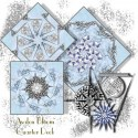 Fuchsias Kaleidoscope Quilt Block Kit