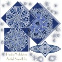 Artful Snowflake Cathedral Windows by Paula Nadelstern Kaleidoscope Quilt Block kit