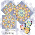 Just Hatched Kaleidoscope Quilt Block Kit