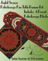 Crimson and Holly Kaleidoscope Fan Place Mat Kit