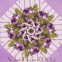 April Cornell Glorious Garden Kaleidoscope Quilt Block Kit
