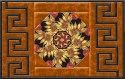 Autumn Glow Greek Key Place Mat Kit