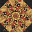 Autumn Glow Kaleidoscope Quilt Block Kit