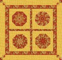 Beginners Kaleidoscope Wall Hanging  Pattern