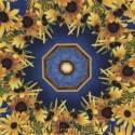 Black Eyed Susan Kaleidoscope Quilt Block Kit