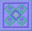 Blossom Basket Wall Hanging Pattern