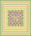 Brassica Yellow Tapestry Kaleidoscope Quilt Top Kit