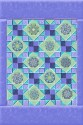 Paradise Lattice Star Kaleidoscopes Quilt Kit