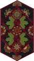 Holiday Flourish 8  Holly Day Table Runner Kit