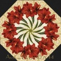 Holiday Magic Kaleidoscope Quilt Block Kit
