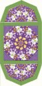 Just Hatched Kaleidoscope Fan Place Mat Kit