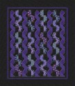 Kaffe Fassett Big Leaf Ribbons and Fans Kaleidoscope Queen Quilt