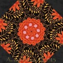 Kaffe Fassett Ferns Kaleidoscope Quilt Block Kit