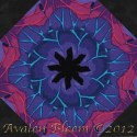 Kaffe Fassett Lake Blossoms Kaleidoscope Quilt Block Kit