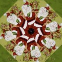 Kringle Krossing Kaleidoscope Quilt Block Kit