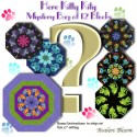 Ktty Cat Mystery Bag of 12 Kaleidoscope Quilt blocks
