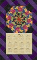 Laurel Burch Fabulous Felines Calendar Wall Hanging Kit