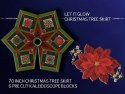 Let It Glow Star Christmas Tree Skirt Kit