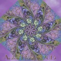 Marbleized Kaleidoscope Quilt Block Kit