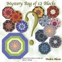 Mystery Bag of 12 Kaleidoscope Quilt blocks Kit