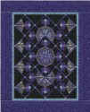 Nouveau Stained Glass Windows Kaleidoscopes Quilt  Pattern