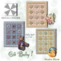 Oh Baby Kaleidoscope Quilt Pattern
