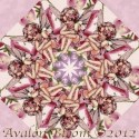Petal Flower Fairies Kaleidoscope Quilt Block Kit