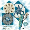 Majestic Beauties Kaleidoscope Quilt Block Kit