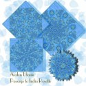 Passage to India Raj Rosettes Kaleidoscope Quilt Block Kit