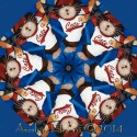 Sports Fan Cats Kaleidoscope Quilt Block Kit