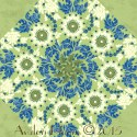 Urban Chic Kaleidoscope Quilt Block Kit