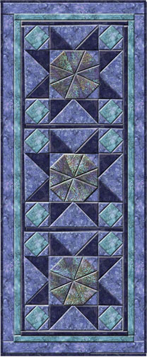 Twilight Stars Table Runner Pattern